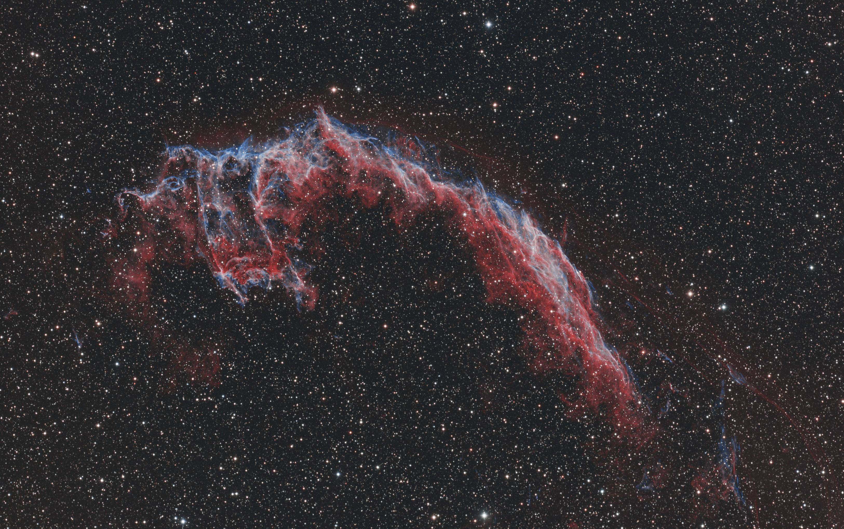 NGC6992 en HOO-RVB en remote depuis Sirene HOO-RVB-FINAL2